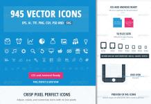Iconos vectoriales