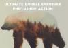5 acciones de Photoshop para crear efecto doble exposición