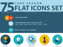 75 Iconos para agencia SEO y Marketing