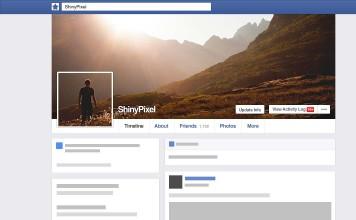 Acción de Photoshop para caratula de facebook