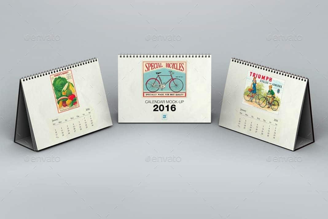 Mockup Calendario
