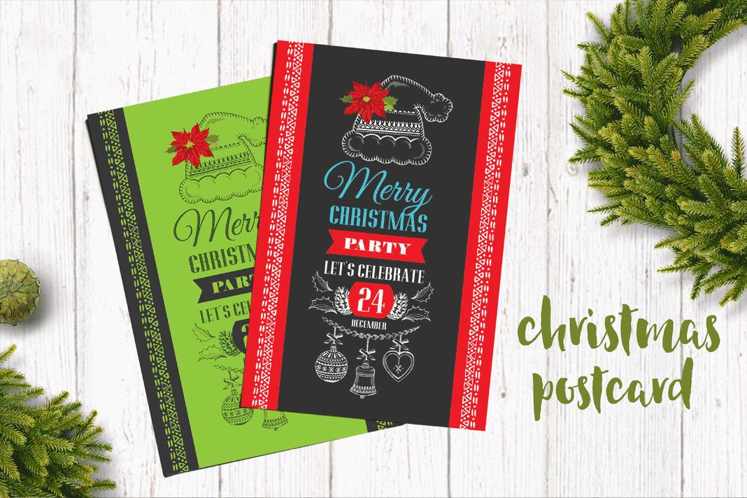 35 Diseños de Invitaciones para Navidad - AV0.info