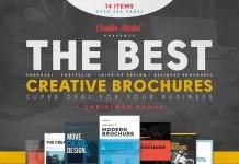 Folletos Creativos - Oferta Descuento 80%