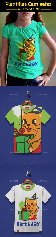 Dorable Plantilla De Camiseta Indesign Motivo - Ejemplo De Colección ...