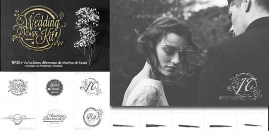Descargar Kit para diseñar logos bodas