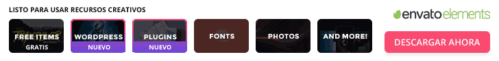 Descargar diseños Envato Elements